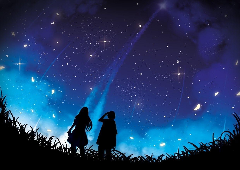 Это ощущение, когда смотришь в небо